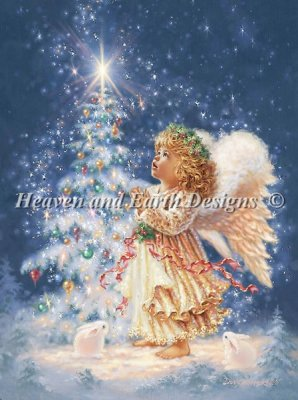 Heaven and Earth - My Christmas Wish Cross Stitch Chart