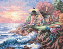 Guardian Of The Sea - Gold Collection Counted Cross Stitch Kit