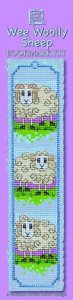 Wee Woolly Sheep  Bookmark