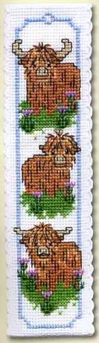 Hieland Coos  Bookmark