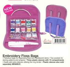 Embroidery Floss Bag