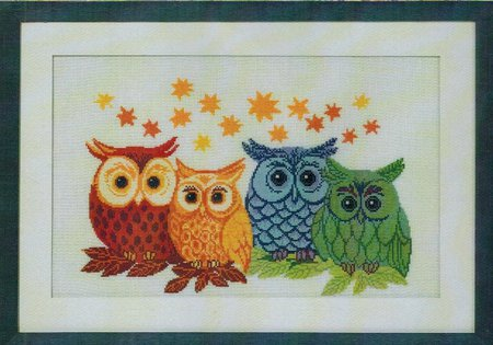 Coloured Owls