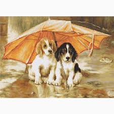 Couple Under a Umbrella