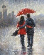 Mystic Stitch - Seattle Lovers in The Rain