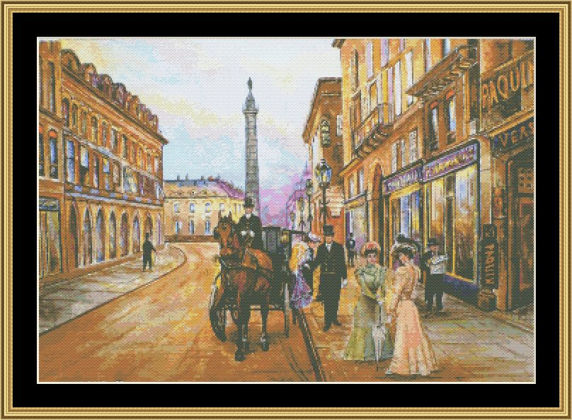 Mystic Stitch - Old Time Paris Chart Only