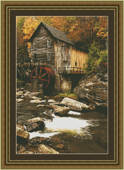 Kustom Krafts - Glade Creek Mill Chart Only