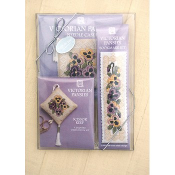 Victorian Pansies Gift Pack
