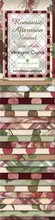 "Romantic Afternoon Flannel 2.5"" Strips"