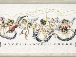 Mirabilia - Angel of Proclamation Cross Stitch Chart