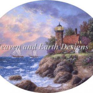 Heaven and Earth - Sand Island Cross Stitch Chart