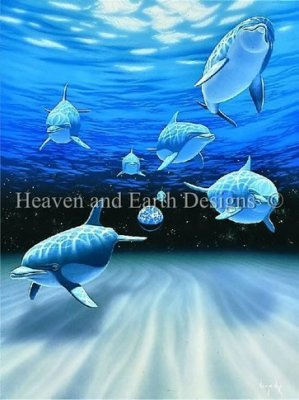 Heaven and Earth - Water World Cross Stitch Chart