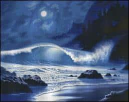 Shinysun's - Midnight Tide Cross Stitch Chart