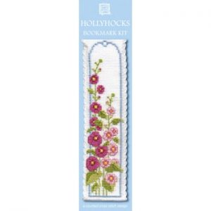 Hollyhock Bookmark