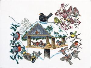 Winter Bird Table