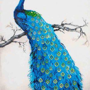 Diamond Dotz - Blue Peacock