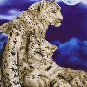 Diamond Dotz - Snow Leopards
